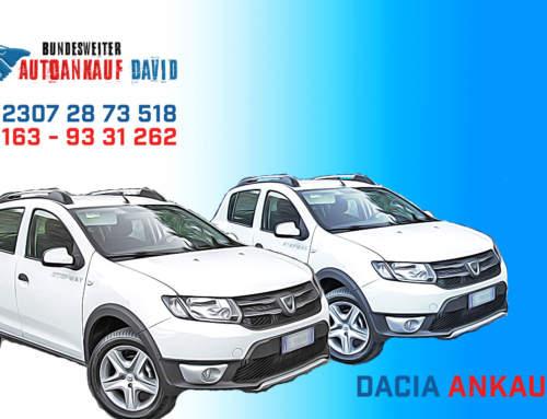Dacia verkaufen